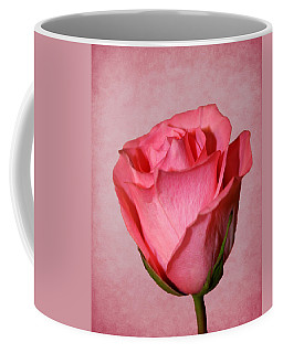 Coffee Mug featuring the photograph Pink Rose by Judy Vincent