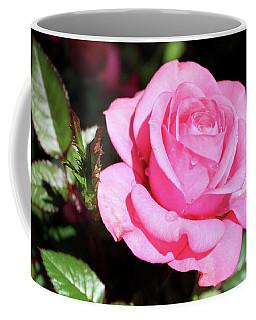 Pink Rose Coffee Mug by Ronda Ryan