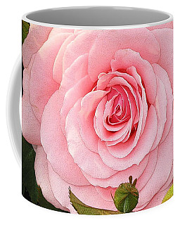 Coffee Mug featuring the photograph Pink Rose - Rose Rose by Nature and Wildlife Photography