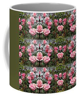 Pink Roses  Coffee Mug by Nora Boghossian