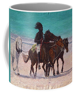 Pink Sand Rider Coffee Mug