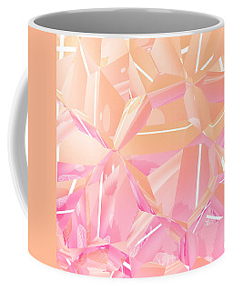Coffee Mug featuring the digital art Pink Serenity by Kathy Kelly