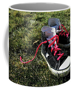 Pink Shoe Laces Coffee Mug