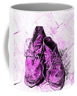 Pink Shoes Coffee Mug by John Stephens