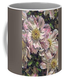 Pink Single Peonies Coffee Mug
