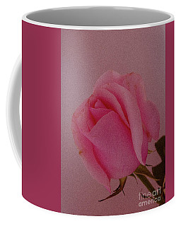 Pink Single Rose Coffee Mug