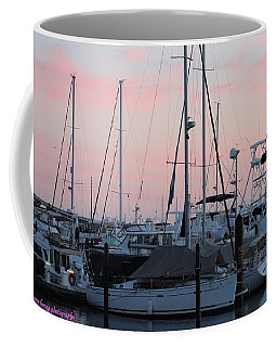 Pink Skies Coffee Mug by Nance Larson