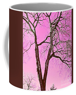 Pink Skies Smiling At Me Coffee Mug