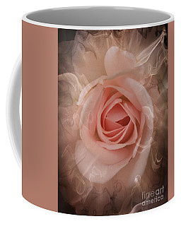 Pink Smokey Coffee Mug by Clare Bevan