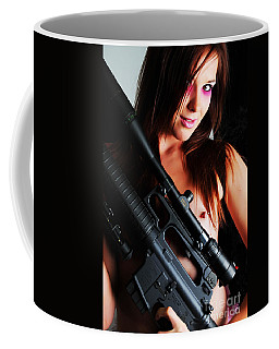 Pink Sniper Coffee Mug