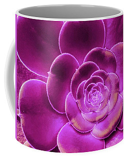 Pink Succulent Coffee Mug