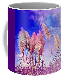Pink Toi Toi Grasses Coffee Mug
