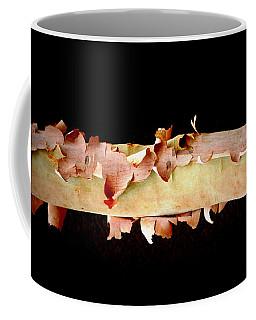 Pink Tree Bark Coffee Mug by Lexa Harpell