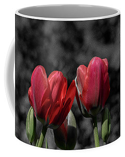 Pink Tulip Pop Coffee Mug