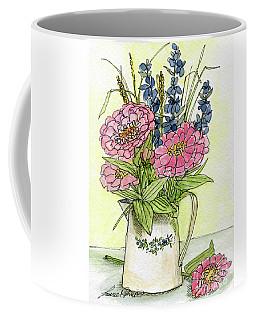 Pink Zinneas Coffee Mug