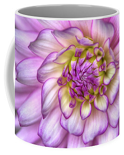 Pink Zinnia Close Up Coffee Mug