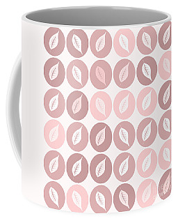 Pinkish Leaves Coffee Mug