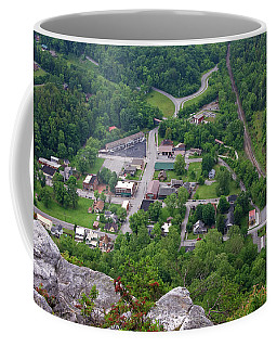 Pinnacle Overlook In Kentucky Coffee Mug