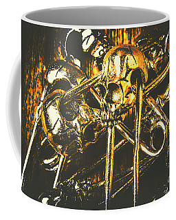 Coffee Mug featuring the photograph Pins Of Horror Fashion by Jorgo Photography - Wall Art Gallery