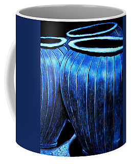 Pinstripe Pots Coffee Mug