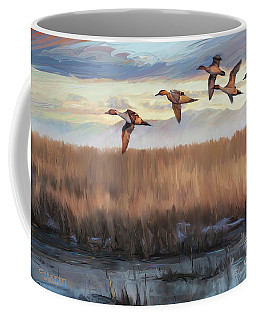 Pintail Fly By Coffee Mug