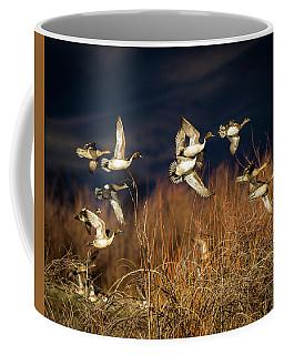 Pintails And Wigeons Coffee Mug