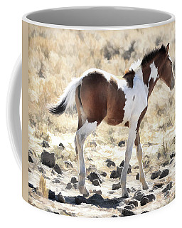Coffee Mug featuring the photograph Pinto Pony by Steve McKinzie