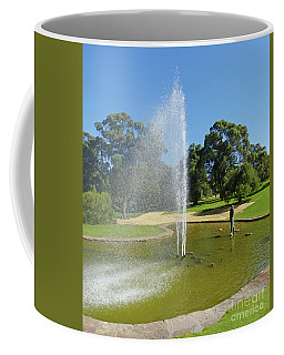 Coffee Mug featuring the photograph Pioneer Women's Fountain - Kings Park by Phil Banks