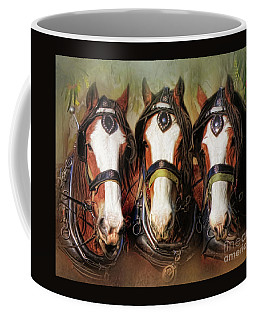 Pioneers Coffee Mug by Trudi Simmonds