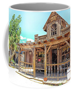 Coffee Mug featuring the photograph Pioneertown, Usa by Alison Frank