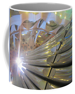 Coffee Mug featuring the photograph Pipe Organ Of La Sagrada by Christin Brodie