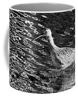Piper Profile, Black And White Coffee Mug