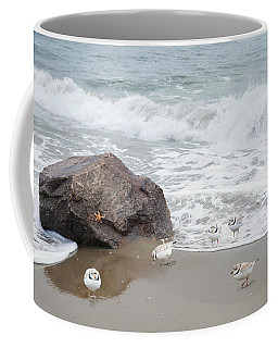 Piping Plovers Coffee Mug