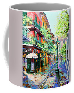 Pirates Alley - French Quarter Alley Coffee Mug by Dianne Parks