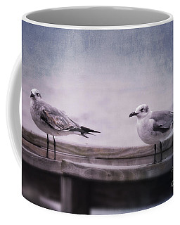 Coffee Mug featuring the photograph Pirates Of The Sea by Ella Kaye Dickey