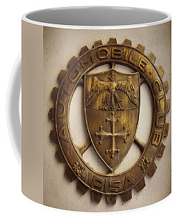 Pisa Auto Club Coffee Mug by Valerie Reeves