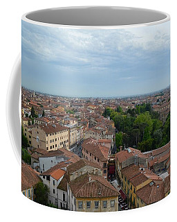Pisa From Above Coffee Mug