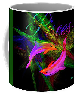 Pisces, By Sherr's Of Palm Springs Coffee Mug