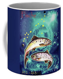 Pisces In The Sky Coffee Mug