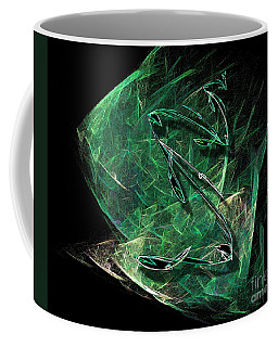Coffee Mug featuring the painting Pisces by Viktor Savchenko