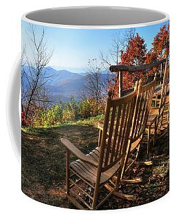 Pisgah Inn's Rocking Chairs Coffee Mug