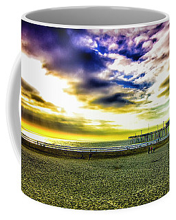 Coffee Mug featuring the photograph Pismo Beach Sky by Joseph Hollingsworth