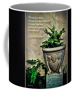 Pissarro Inspirational Quote Coffee Mug
