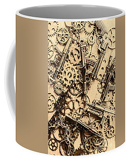 Pistol Parts And Rifle Pinions Coffee Mug