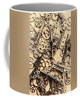 Pistol Parts And Rifle Pinions Coffee Mug