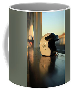 Pit Lane Reflections Coffee Mug