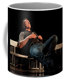 Coffee Mug featuring the photograph Pit Stop In Pittsburgh by Jeff Ross
