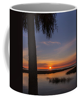 Pitt Street Bridge Palmetto Sunset Coffee Mug
