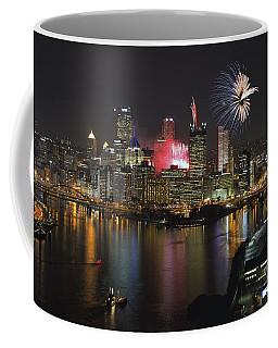 Pittsburgh 3 Coffee Mug by Emmanuel Panagiotakis