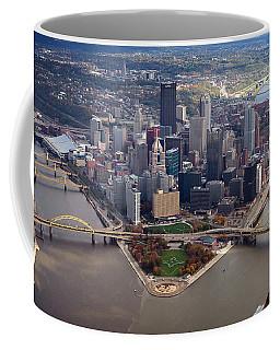 Pittsburgh 8 In Color  Coffee Mug